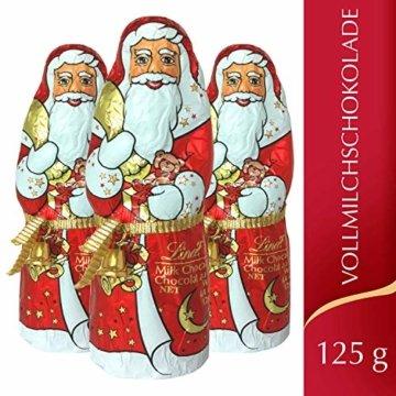 Lindt Weihnachtsmänner Vollmilchschokolade, 3er pack (3 x 125g) - 2