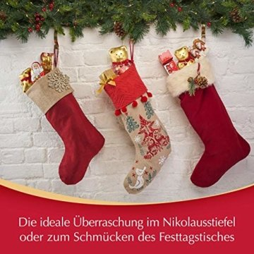 Lindt Weihnachtsmänner Vollmilchschokolade, 3er pack (3 x 125g) - 8