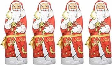 Lindt Weihnachtsmänner Vollmilchschokolade, 4er pack (4 x 200g) - 6