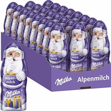 Milka Weihnachtsmann Alpenmilch 1 x 45g, Zartschmelzende Alpenmilch Schokolade - 1