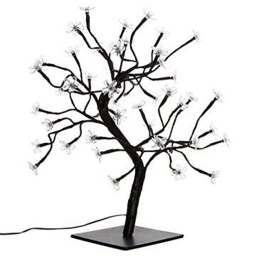 Nipach GmbH 48 LED Baum mit Blüten Blütenbaum Lichterbaum warm weiß 45 cm hoch Trafo IP20 Timer Weihnachtsbeleuchtung Weihnachtsdeko Lichterdeko Xmas - 5