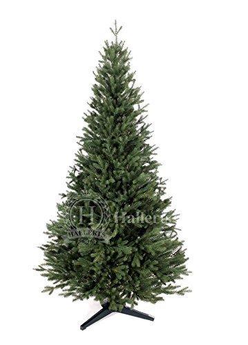 Original Hallerts® Spritzguss Weihnachtsbaum Bellister 150 cm als Nobilis Edeltanne - Christbaum zu 100% in Spritzguss PlasTip® Qualität - schwer entflammbar nach B1 Norm, Material TÜV und SGS geprüft - Premium Spritzgusstanne - 1