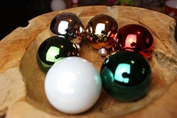 Personalisierte Christbaumkugeln Petrol, Christbaumschmuck, Weihnachtsbaumkugel, Weihnachtsbaumschmuck, Tannenbaumkugel, Tannenbaumschmuck, Christbaumkugeln Farbe Petrol - 5