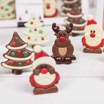 Santa Solo - Weihnachtsmann aus Schokolade | Schoko | Schokoladenfigur Weihnachten | Schokoladen Geschenke | Geschenkideen | Weihnachtsschokolade | Süßigkeiten | Kinder | Kind | Mädchen | Nikolaus - 4