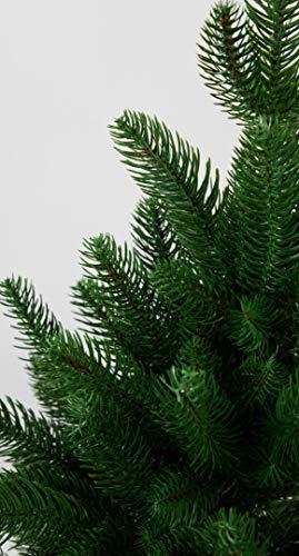 Seidenblumen Roß Nordmanntanne 180cm LS künstlicher Weihnachtsbaum Tannenbaum Kunststanne Kunststoff Spritzguss-Verfahren 100% PE - 2