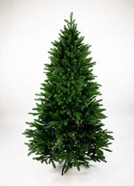 Seidenblumen Roß Nordmanntanne 180cm LS künstlicher Weihnachtsbaum Tannenbaum Kunststanne Kunststoff Spritzguss-Verfahren 100% PE - 1