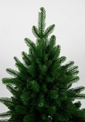 Seidenblumen Roß Nordmanntanne 180cm LS künstlicher Weihnachtsbaum Tannenbaum Kunststanne Kunststoff Spritzguss-Verfahren 100% PE - 4