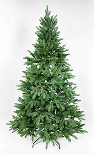 Seidenblumen Roß Nordmanntanne 180cm LS künstlicher Weihnachtsbaum Tannenbaum Kunststanne Kunststoff Spritzguss-Verfahren 100% PE - 6