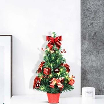 Shareconn Mini Künstlicher Weihnachtsbaum 40CM - 1
