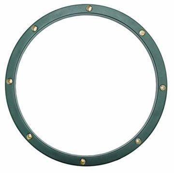 Star-Max Ring für Christbaumständer mit 8 0,5 Watt warmweissen LED, Adapter für den Innenbereich mit Timerfunktion 6/18 Std und Fernbedienung, grün - 3