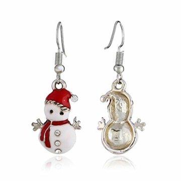 STYLEEA Frauen Weihnachtshaken-Tropfen baumeln Ohrring-Charme Eardrop Schmucksache-WeihnachtsPartei Anhänger Hoop Geschenke für Frauen - 3