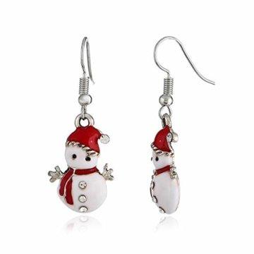 STYLEEA Frauen Weihnachtshaken-Tropfen baumeln Ohrring-Charme Eardrop Schmucksache-WeihnachtsPartei Anhänger Hoop Geschenke für Frauen - 7