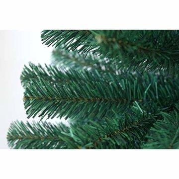 SVITA künstlicher Weihnachtsbaum Tannenbaum Deko Christbaum Kunstbaum PVC 150 cm - 2