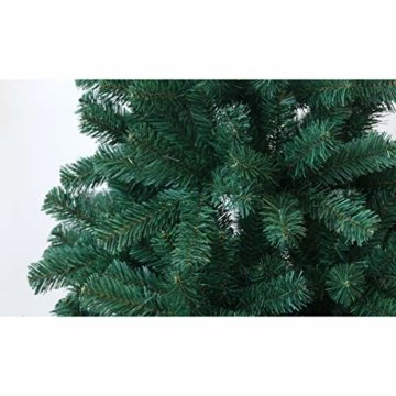 SVITA künstlicher Weihnachtsbaum Tannenbaum Deko Christbaum Kunstbaum PVC 150 cm - 3