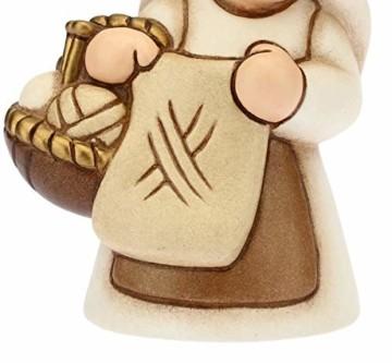 THUN Klassik Krippe Figur Strickerin 8x6 cm Creme - 3