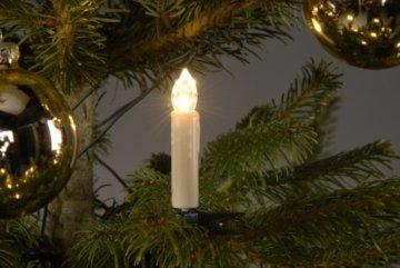 Trango TG340146 24x LED Weihnachtskerzen mit Stecksystem Innenbereich warm-weiß - 3