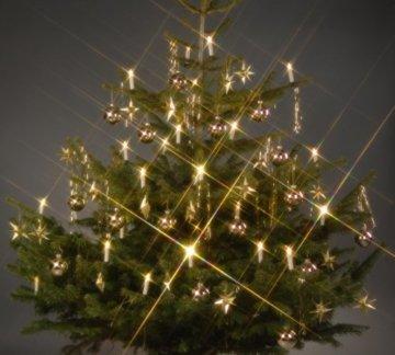 Trango TG340146 24x LED Weihnachtskerzen mit Stecksystem Innenbereich warm-weiß - 4