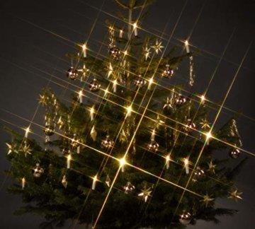 Trango TG340146 24x LED Weihnachtskerzen mit Stecksystem Innenbereich warm-weiß - 1