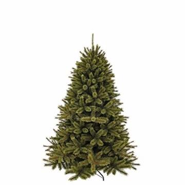 Triumph Tree 788041 Künstlicher Weihnachtsbaum Forest Frosted Pine Höhe 185 cm Durchmesser 130 cm, Zweige 942, grün - 1