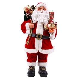 Weihnachtsmann Viggo 60 cm Höhe Dekofigur zu Weihnachten handgefertigt - 1