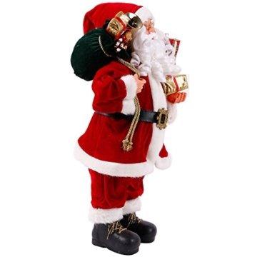 Weihnachtsmann Viggo 60 cm Höhe Dekofigur zu Weihnachten handgefertigt - 4