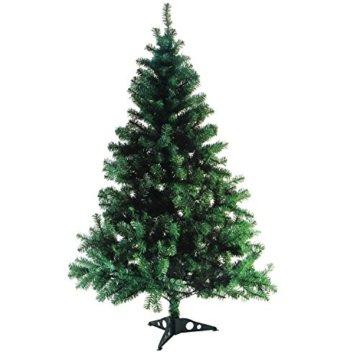 Wohaga® Künstlicher Weihnachtsbaum Tannenbaum inklusive Christbaumständer 180cm / 600 Spitzen Weihnachtsdekoration künstliche Tanne - 4
