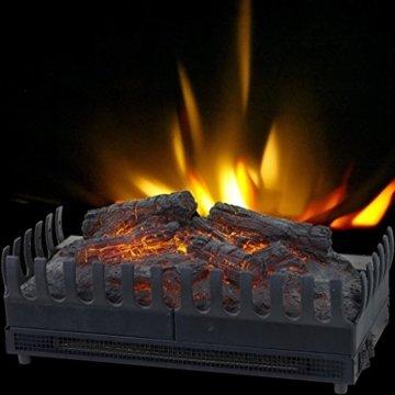 Syntrox Germany Elektrischer Kamineinsatz mit Flammeneffekt - 4