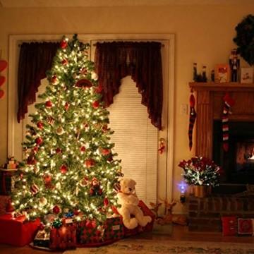 (24 Stück) Flaschenlicht Batterie, kolpop 2m 20 LED Glas Korken Licht Kupferdraht Lichterkette für flasche für Party, Garten, Weihnachten, Halloween, Hochzeit, außen/innen Beleuchtung Deko (Warmweiß) - 5