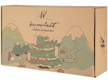 40er Christbaumkerzen Kabellos Dimmbar Flacker Warmweiß Weihnachtsbaumkerzen mit Fernbedienung - 6