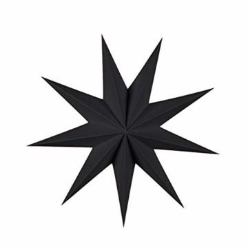 5er Set Faltsterne Papier Stern 9 Zacken Faltsterne Weihnachtsstern für Weihnachtsbaum Dekor Ornament Set - 4