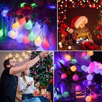 6 Meter 40LED Lichter,Weihnachtsfeier Dekoration Lichter,Weihnachtsbeleuchtung, Fensterlicht Saugnapf ,Fensterlichter,lichtervorhang fenster ,Lichterkette,Lichtervorhang Lichter Weihnachtsbeleuchtung - 6