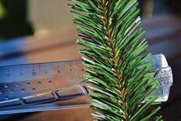 Geodezja Lublin Dekorative Weihnachtsgirlande, grün, ca. 3m / 6m / 9m, dekorative Weihnachtsgirlande (3 m) - 6