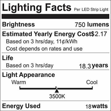 Govee LED Streifen 5m, RGB LED Strip mit Fernbedienung, farbänderbares LED Lichtband für Zuhause, Schlafzimmer, TV, Tische, Schrank, 12V - 8