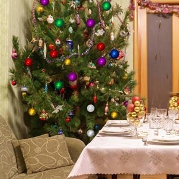 Jinlaili 24PCS Christbaumkugeln, 6CM Weihnachtskugeln Ornamente, Weihnachtsdeko, Christbaumkugel, Weihnachtskugel Kugel, Baumschmuck Weihnachten, Christbaumschmuck Weihnachten Dekoration (Bunt) - 7
