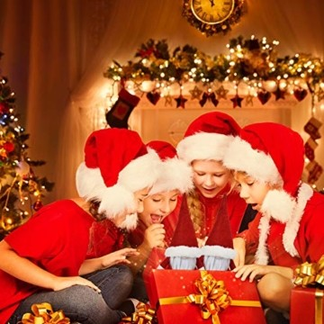 KATELUO Wichtel Figuren Weihnachten, Weihnachten Gesichtslose Puppe, Weihnachtspuppe, Ostern Weihnachten Deko Wichtel, Bart Mann Anhänger Dekoration Weihnachten Ornament Spielzeug Geschenk Prop Partei - 4