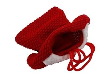 Kranich Besteckhalter Weihnachten Tischdeko Tasche 6pcs Set Kleine Weihnachtsmann Kostüm Schneemann Deko (Weihnachtsmann) - 4