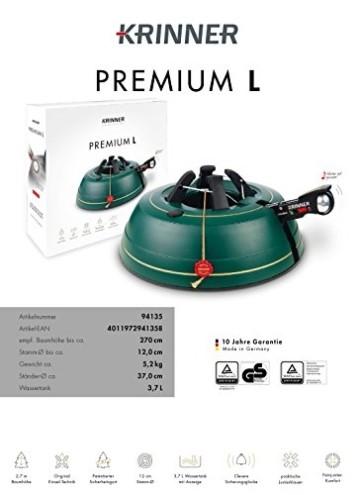 Krinner Christbaumständer Premium, L - 4
