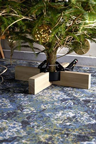 Krinner Original Kopenhagen Eiche/schwarz Christbaumständer, 50 cm - 2