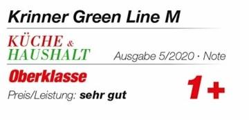 Krinner Recycling Christbaumständer Green Line M, 100% recyceltes Plastik, Schwarz, 36 cm - 3