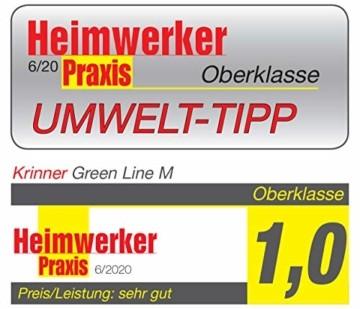 Krinner Recycling Christbaumständer Green Line M, 100% recyceltes Plastik, Schwarz, 36 cm - 4