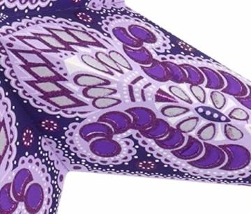 Papierstern Menor violett-natur / Leuchten & Sterne - 5