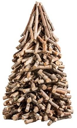Rayher 65202000 Deko-Holzbaum für Weihnachten, Höhe 40 cm - 1