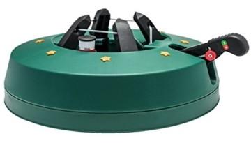 Star-Max Christbaumständer by F-H-S, Start 3, Modell 2018, für Baumhöhe bis 3,0 m, Weihnachtsbaumständer mit Fuhebelfunktion und Einseiltechnik, 3,0 Liter Wassertank, 3 liters, Grün - 1