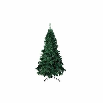 TopVita Künstlicher Weihnachtsbaum hochwertiger Tannenbaum Christbaum, mit Metallständer Material PVC, 150 cm Grün, Innen und Außenbereich - 1