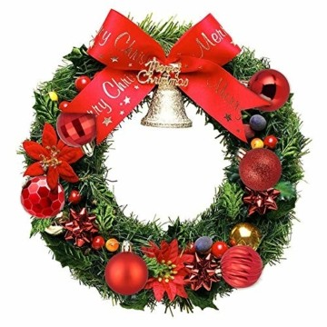 VDSOW Weihnachtskugeln 34, Rot Weihnachtsbaumkugeln Kunststoff Weihnachtsbaum Kugeln Deko für Weihnachtsbaumschmuck, Bruchsichere Christbaumkugeln Christbaumschmuck Weihnachtsdeko Weihnachten 4cm - 2
