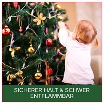 Weihnachtsbaum künstlich 120 cm – Dichte Zweige, einfacher Aufbau, Made in EU - Authentischer Christbaum mit Metallständer – Edle Nordmanntanne - Exklusiver Künstlicher Tannenbaum von Pure Living - 6