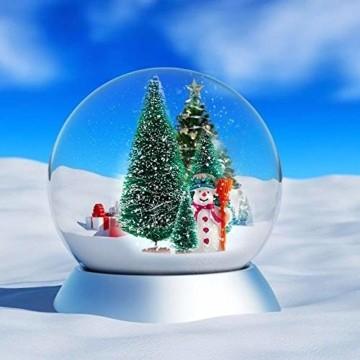 WELLXUNK® Weihnachtsbaum,Mini Weihnachts Baum,Christmasbaum Mini Grün,Weihnachtsbaum Miniatur,Künstlicher Weihnachtsbaum,Weihnachts Baum klein,Künstlich Klein Weihnachtsdeko - 6