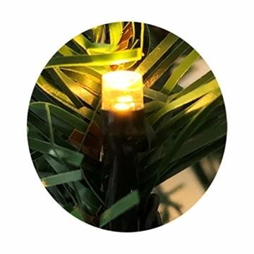 XL Weihnachtsbeleuchtung Girlande beleuchtet Tannengirlande 70 LED Lichterkette 540 cm Weihnachten innen und außen - 5
