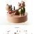 Chonor Innovative Szene aus Holz Spieluhr, Premier Spieluhr Handkurbel Handwerk Reine Hand-klassischen Music Box Dekorationen Idee für Geburtstag Weihnachten - Wippe - 2
