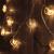 CozyHome LED Lichterkette Herz – 5m strombetrieben | 20 Herzen warmweiß | Led Herz Strom | Tumblr Deko für: Mädchen Schlafzimmer, Hochzeit, Schminktisch | Rosa Gold Lichterketten mit Stecker - 4